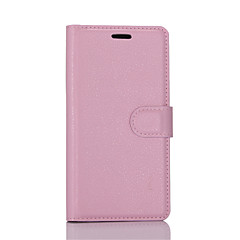 For iPhone 6 etui iPhone 6 Plus etui Pung Kortholder Flip Etui Heldækkende Etui Helfarve Hårdt Kunstlæder foriPhone 7 Plus iPhone 7