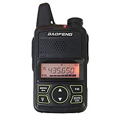 Baofeng bf t1 μίνι φορητό ραδιοτηλέφωνο εξαιρετικά λεπτό μίνι οδήγηση 400-470mhz baofeng ξενοδοχείο πολιτικό φορητό ραδιοτηλέφωνο 20
