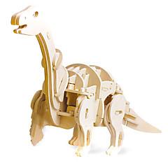 puzzle-uri Kit Lucru Manual Puzzle 3D Jucării Logice & Puzzle Blocuri de pereti DIY Jucarii Dinosaur desen animat în formă