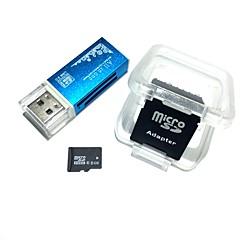 8GB MicroSDHC TF muistikortti kaikki yhdessä USB-kortinlukija SDHC sd sovitin