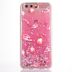 Obudowa dla huawei p10 plus obudowa pokrowiec na p10 pokrowiec na flamingo płynne płynne brokat soft tpu materia phone case honor v9