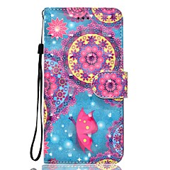 Taske til huawei p10 p10 lite telefon sag 3d effekt sommerfugl mønster pu materiale tegnebog sektion telefon taske p9 lite p8 lite p8 lite