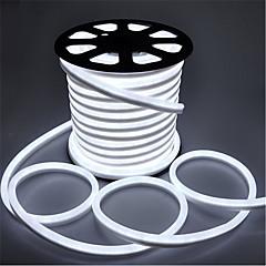 25W Fleksible LED-lysstriber 3000 lm Vekselstrøm220 V 3 m 360 leds Varm Hvid Hvid Rød Gul Blå Grøn Lyserød