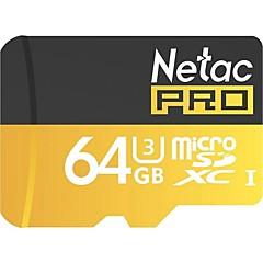 Netac 64g uhs-i u3 κάρτα μνήμης κινητής τηλεφωνίας tf (micro-sd) καρτών μνήμης παρακολούθησης φωτογραφικών μηχανών