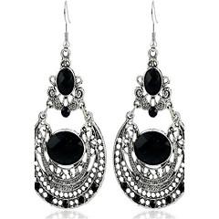 Dames Druppel oorbellen Bohemia Style Oversized Modieus Vintage Legering Ovalen vorm Geometrische vorm Sieraden VoorFeest AvondFeest