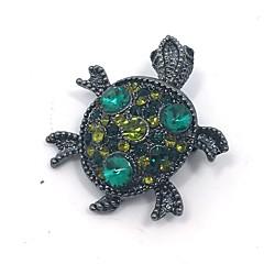Damskie Broszki Rhinestone Zwierzęta Stop Animal Shape żółw Biżuteria Na Impreza Codzienny Casual Party Wieczór