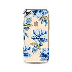 Θήκη για iphone 7 plus 7 κάλυψη διαφανές πρότυπο κάλυμμα περίπτωσης λουλούδι μαλακό tpu για iphone 6s plus 6 plus 6s 6 se 5s 5c 5 4s 4