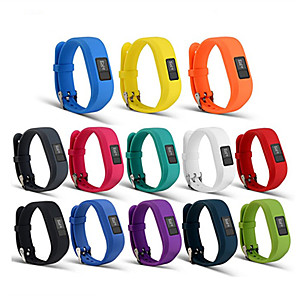 Horlogeband voor Vivofit 3 Garmin Sportband Silicone Polsband
