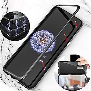 tok Για Samsung Galaxy S9 Plus / S9 Μαγνητική ΠλήÏης Θήκη ΜονόχÏωμο ΣκληÏή Μεταλλικό για S9 / S9 Plus / S8 Plus