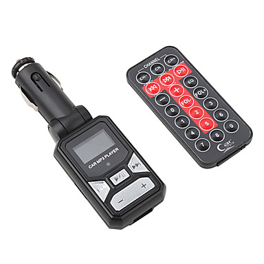 Remote Control Card Reader Car MP3 Player