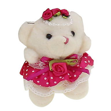 Teddy Wedding Bride Bear (Assorted Colors)