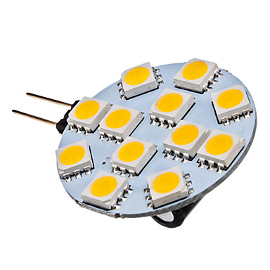 1 5w g4 led spotlight 12 smd 5050 70 lm warm white dc 12 v 311439 2017. Black Bedroom Furniture Sets. Home Design Ideas