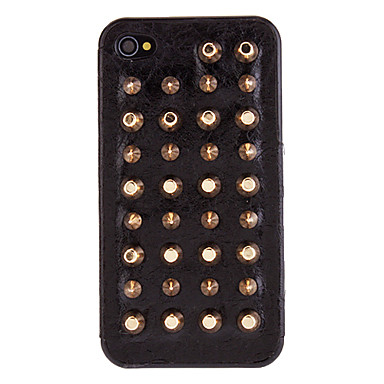 3d gouden kogels style rivet pc hard case met interieur for Interieur iphone x