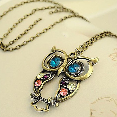 Women's Alloy Necklace Birthday / Gift Party Daily Special Occasion Causal Rhinestone