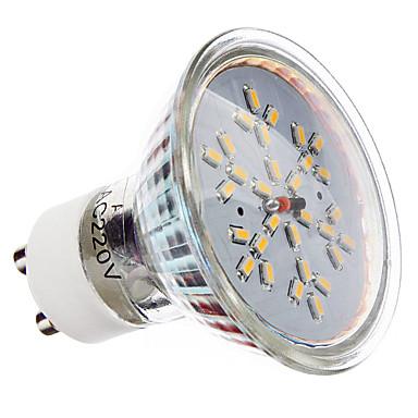 3W GU10 Faretti LED MR16 30 SMD 3014 240 lm Bianco caldo AC 220-240 V del 703237 2017 a €4.79