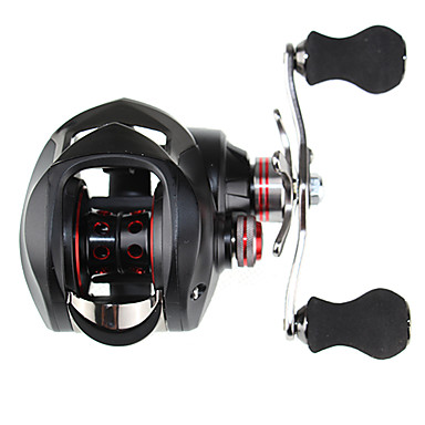 Sharp Cat 10+1 BB Black Bait Casting Reel Right Hand