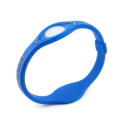 Fashion Silicone  Power Energy Blue Bracelest  for Balance of  Children