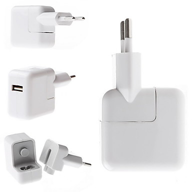 USB AC Charger Adapter EU for iPad Air 2 iPhone 6 iPhone 6 Plus iPhone 5S/5 iPad mini 3/2/1 iPad Air