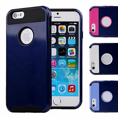 Double coque concevoir dos bleu fonc avec tui rigide tpu for Interieur iphone
