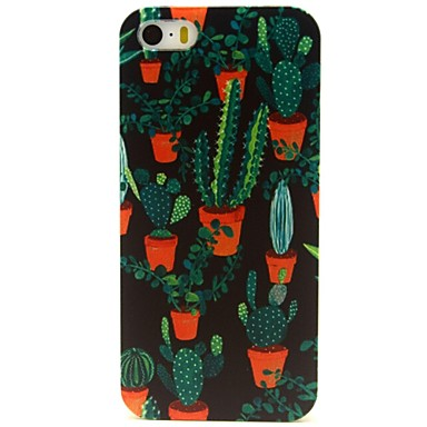 cactus plantes motif bo tier en plastique dur pour l 39 iphone 5 5s de 1894748 2017. Black Bedroom Furniture Sets. Home Design Ideas
