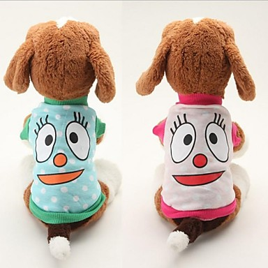 Schöne Cotton Big Eyes Pattern-Haustier-T-Shirt für Pet Dogs (Multicolor sortierten Größen)