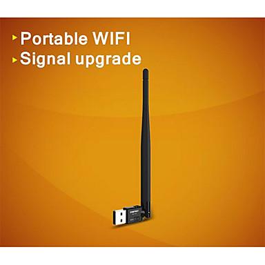 COMFAST® CF-WU735P 2.4GHz 802.11b/g/n Mini 150Mbps USB 2.0 Wireless Wi-Fi Network Adapter - Black