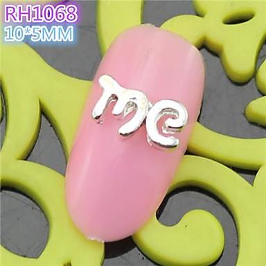 10st rh1068 speciale ontwerp me luxe 3d legering nail art diy nagel schoonheid nagel decoratie - Decoratie murale ontwerp salon ...