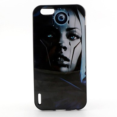 Robot Pattern Back Case Cover for  iPhone6