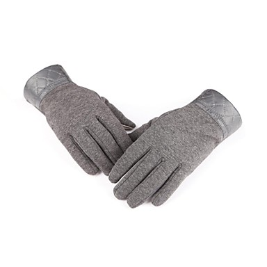 Full-finger Gloves / Winter Gloves Men's Keep Warm / Protective / Windproof / Wearproof Ski & Snowboard / Skating / Cycling/BikeCoffee /