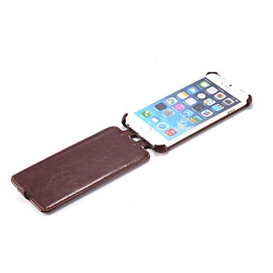 Leather Full Body Cases Flip Open Cover Up to Drown for iPhone 6(Assorted Colors)