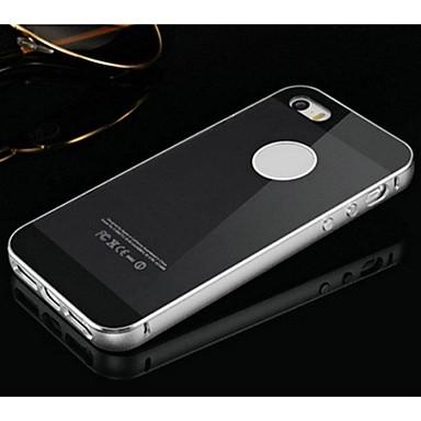 Deux en un kx tui rigide argent miroir acrylique cadre en for Application miroir iphone