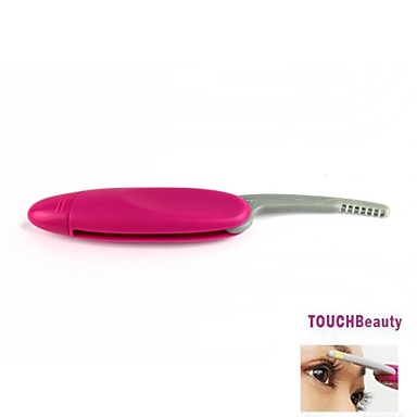 Mini Electric Foldable Heated Plastic Eyelashes Curler Brush