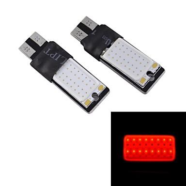 haute luminosit feux de d tresse lampe rouge de la largeur de la voiture 12v 1pair de. Black Bedroom Furniture Sets. Home Design Ideas
