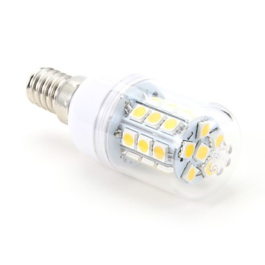 3W E14 LED Corn Lights T 27 SMD 5050 200 lm Warm White AC 220-240 V