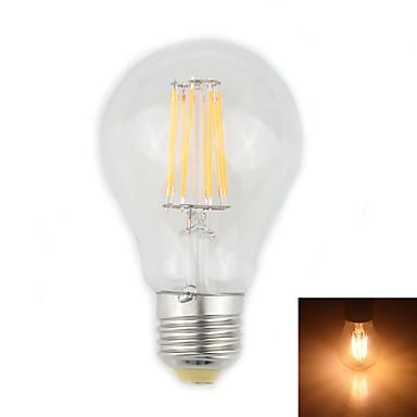 Lampade LED a incandescenza 8 LED ad alta intesità Zweihnder CA E26/E27 8 W Decorativo 750 LM ...