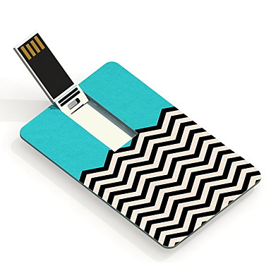 32GB Ripple Design Pattern Card USB Flash Drive
