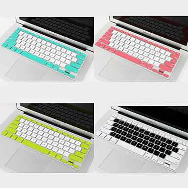Coosbo bicolore housse de protection du clavier pour 11 for Housse macbook pro retina