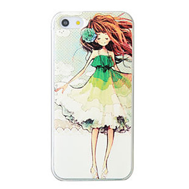 Fashion 3D Beauty Flower Colorful Totem Cartoon Case iphone 5S