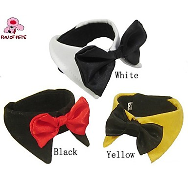 FUN OF PETSClassic Gentlemen Style Bow Tie Dog Accessories for Pets Dogs Christmas Clothing (Assortd Sizes and Colours)