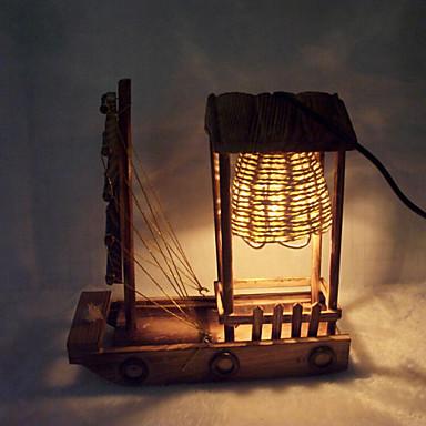 Kreativ tre lys seiling lampe dekorasjon bordlampe soverom lampe ...