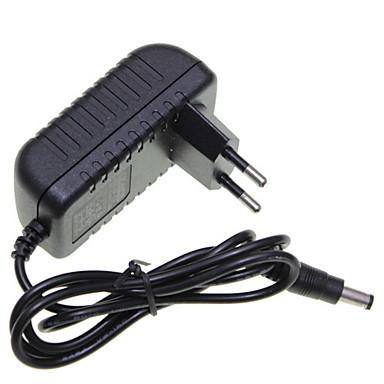 EU Europe Plug 12V 1A LED Strip Light / CCTV Security Camera Monitor Power Supply Adapter AC100-240V