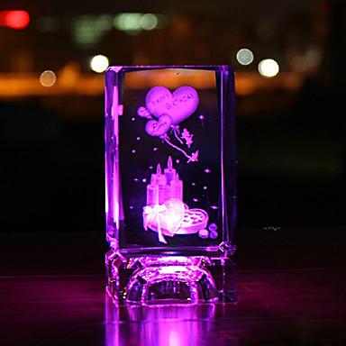stk krystall rose dekorative utstyrsvarer gaver på Valentinsdag ...