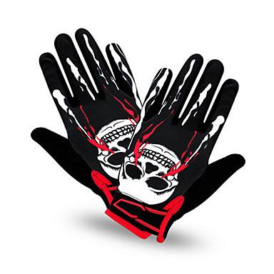 Glove Cycling/Bike Unisex Full-finger Gloves Anti-skidding / Keep Warm / Wearproof / Breathable