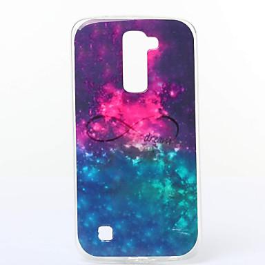 Dream Pattern TPU Material Phone Case LG K10/K7