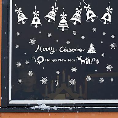 Navidad romance d a festivo pegatinas de pared for Calcomanias para paredes decorativas