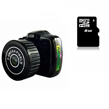 Mini Camera HY2000 Smallest 8G MicroSD