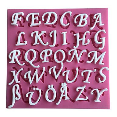 26 lettres anglais silicone 3d moule ustensiles de cuisine - Ustensiles de cuisine en anglais ...