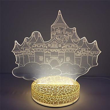 Vente en gros cadeau de no l lampe de nuit 3d illusion usb haute qualit de 5 - Vente de cadeau de noel ...