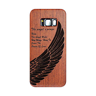 For Samsung Galaxy S8 S8 Plus Wings of Angels Carved Hard Protective Back Cover  Samsung Case  S7 edge S7