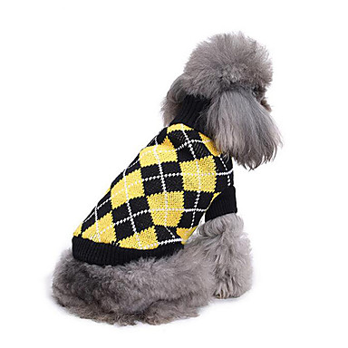 Dog Sweater Dog Clothes Casual/Daily Geometic